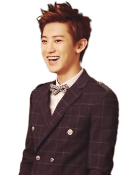 Chanyeol transparent suit. Exo laughing png stickpng