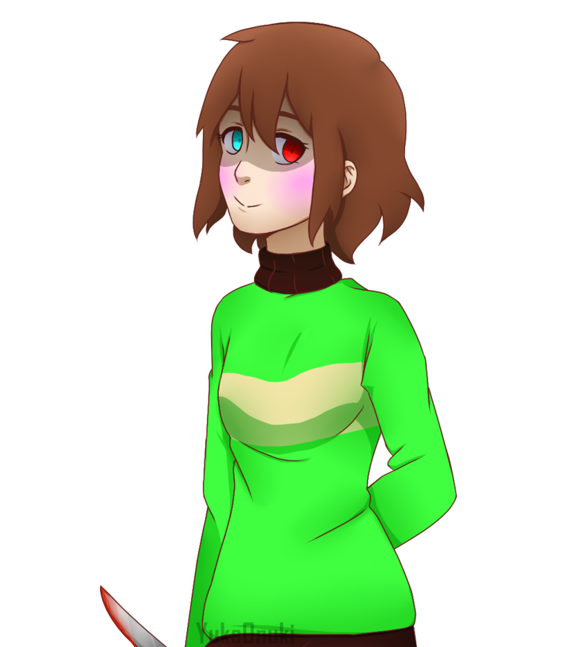 Chara undertale png. Yuka as collab video