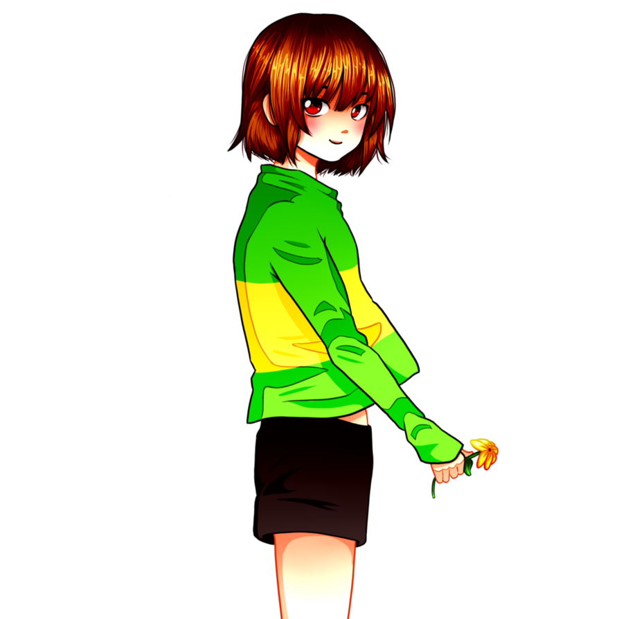 Chara undertale png. By flyingpings on deviantart