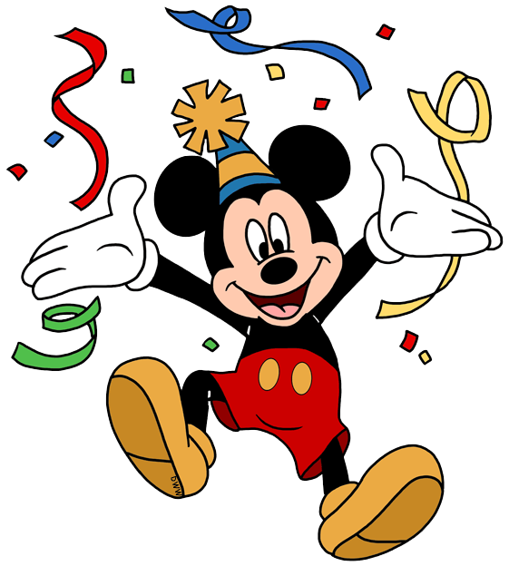 Character clipart birthday. Free cliparts disney download