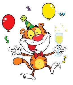 Character clipart birthday. Kids party clip art