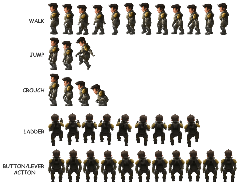 Character sprite png. Kuwirama sheet by fenris