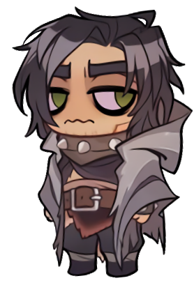 Character transparent chibi. Image stickers muriel png