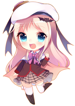 Character transparent chibi. Detailed waitlist available by