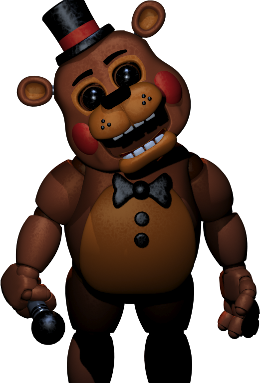 Character transparent fnaf. Toy freddy joey pinterest