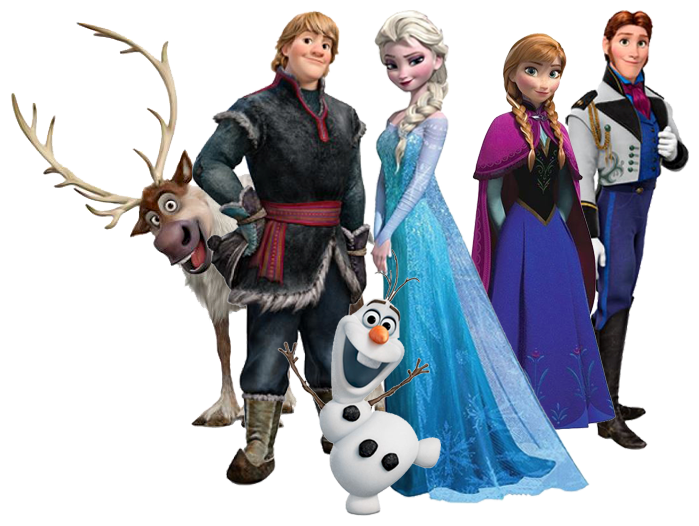 Character transparent frozen. Immagini wallpaper and background