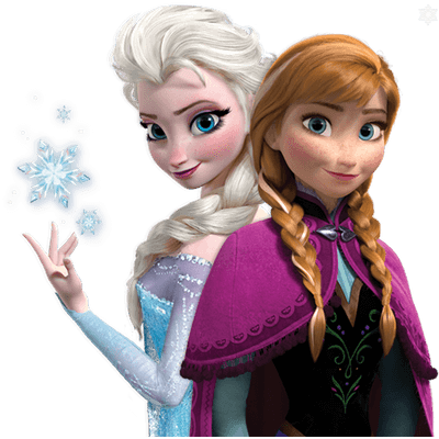 Character transparent frozen. Png stickpng duo