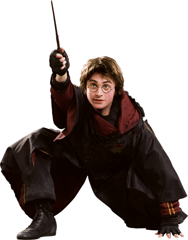 Character transparent harry potter. In triwizard tournament first