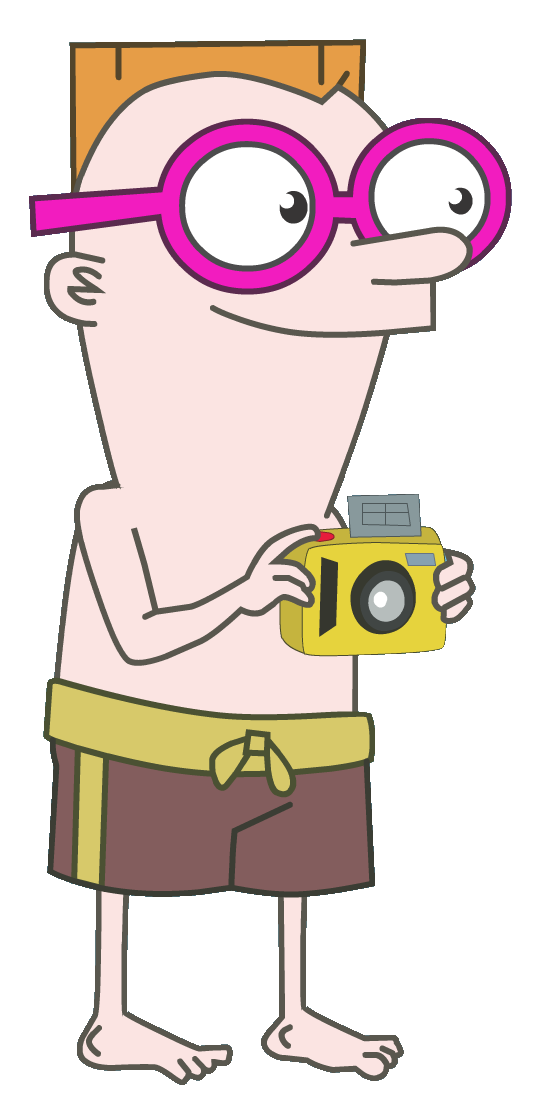 Character transparent phineas and ferb. Image promo irving png