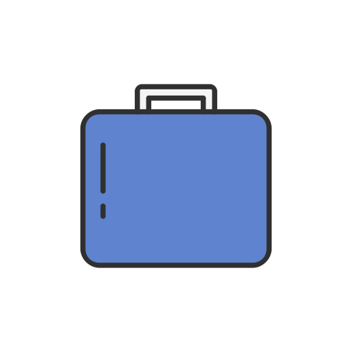 Character with briefcase png. Icons for free icon