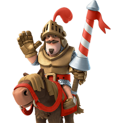 Clash royale king png. Prince transparent stickpng red