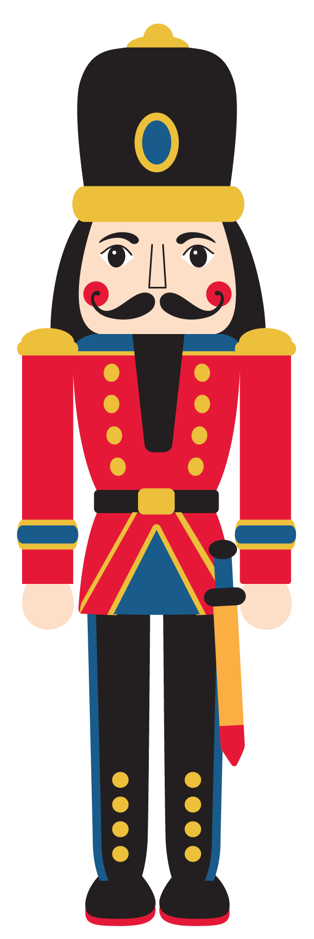 Ballet svg nutcracker. The community icon painting
