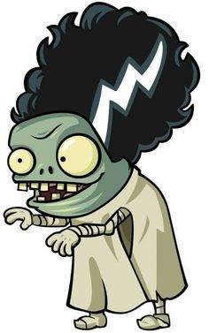 Characters clipart plants vs zombies. Plant google search zombie