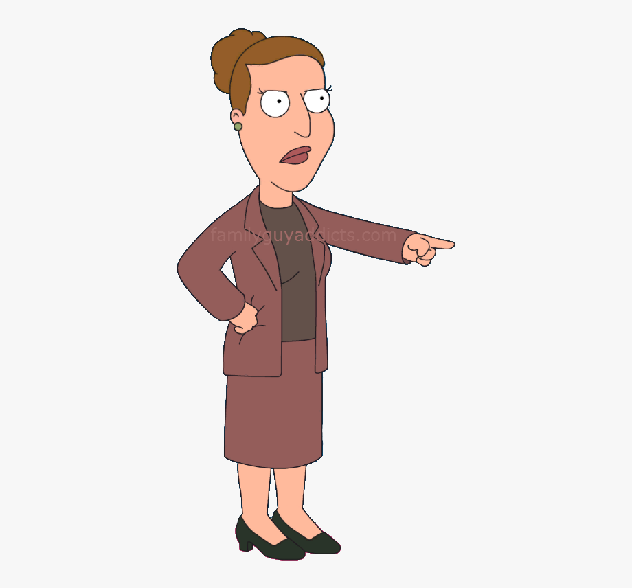 Characters family guy. Angela free cliparts on