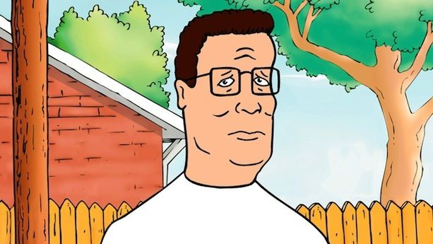 Characters king of the hill. Hank cartoon best
