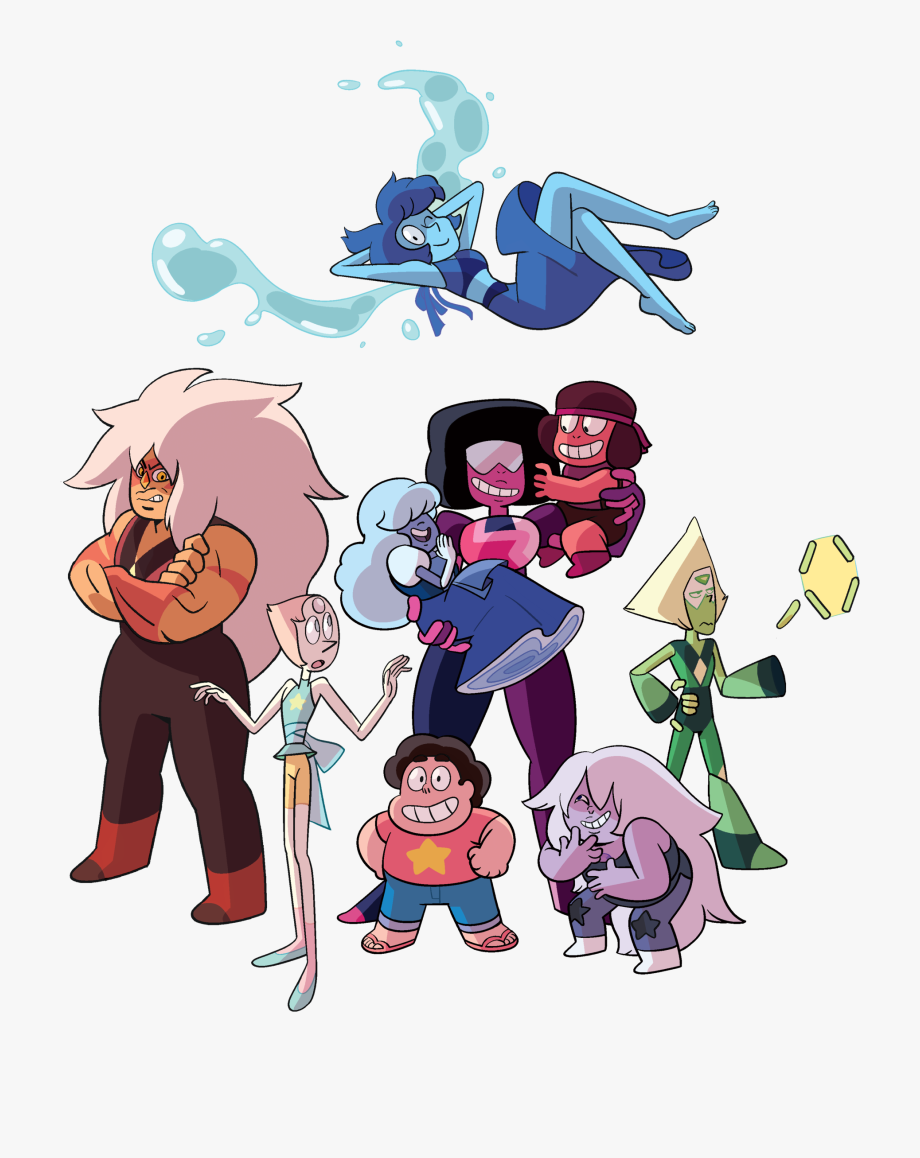 Characters steven universe. Gems comic con poster