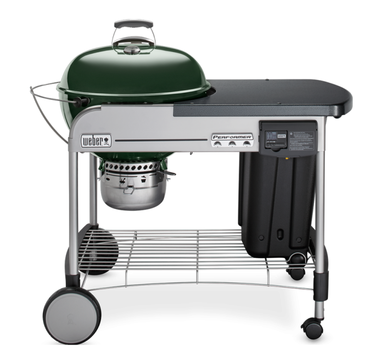 Charcoal grill png. Performer deluxe weber grills