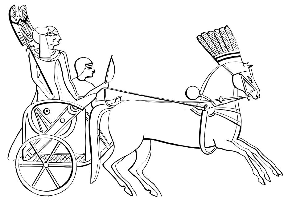 Chariot drawing easy. Vehicle pinterest