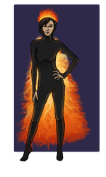 Chariot drawing peeta katniss. Outfit by hersb on