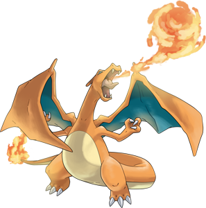Charizard png. Pokemon pokedex evolution moves