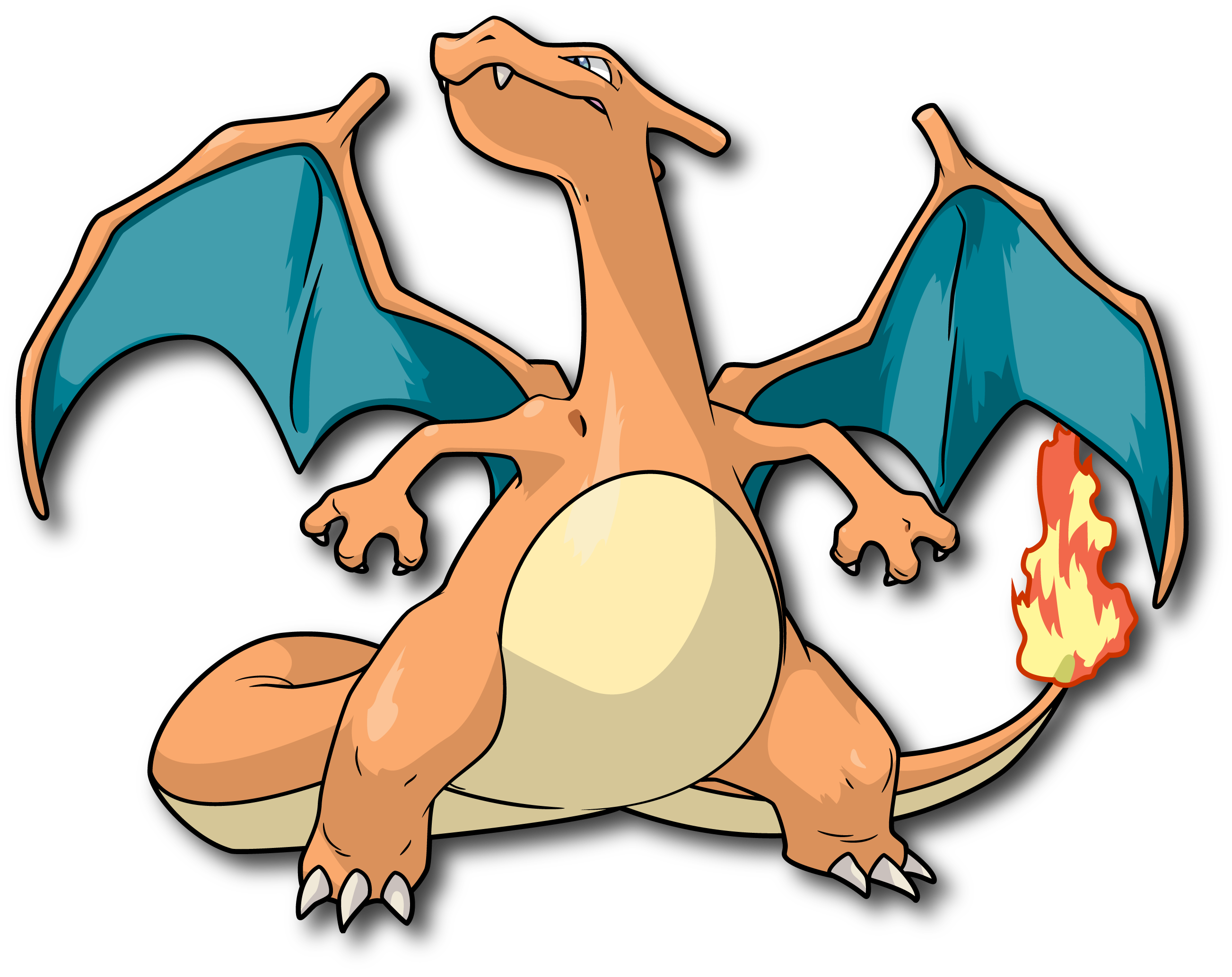 Charizard vector 1080p. By rayo on