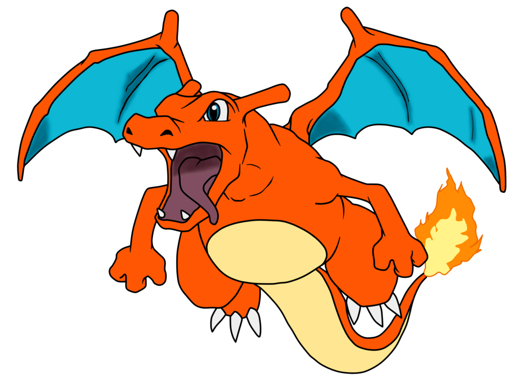 Charizard vector abstract. Hungry by gonzalossj on