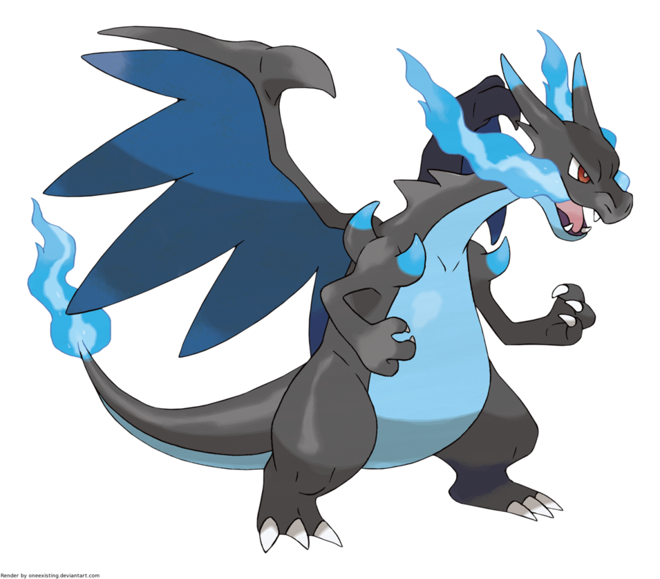 Charizard vector animated. Image mega x png