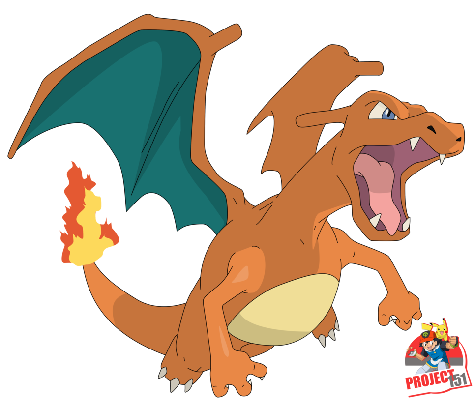 Charizard vector baby. V video games thread