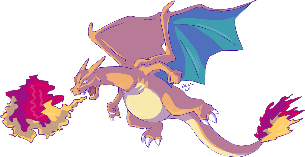 Charizard vector gyarados. Original blue runner here