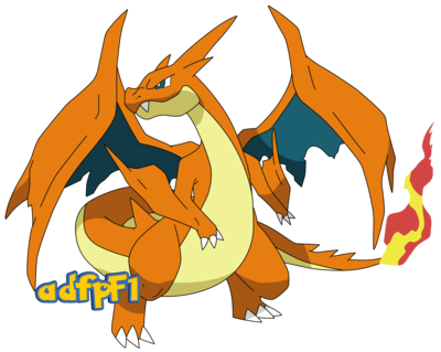 Charizard vector pokemon. Mega y by
