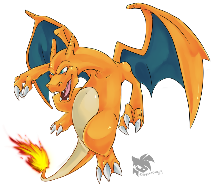 Charizard vector pokemon red. What type of is