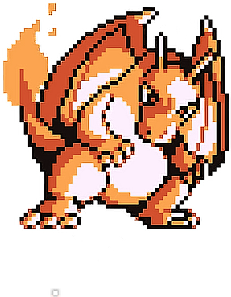 Charizard vector pokemon red. Cute videogames sprite freetoedit