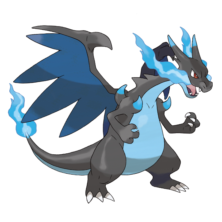 Charizard vector scared. Mega x when expelling