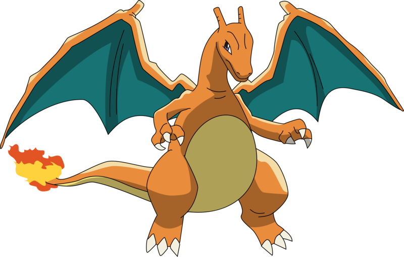 Charizard vector transparent. By pklucario on