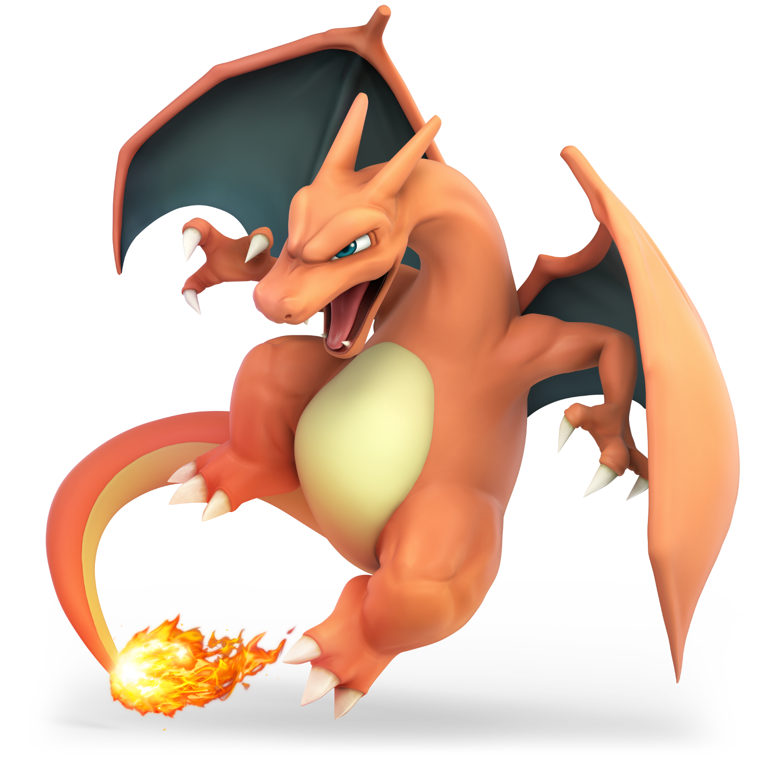 Charizard vector pokemon red. Ignites death battle by