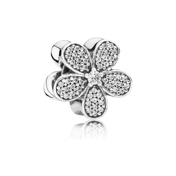 Charm clip dazzling daisy. Pandora bracelets and charms