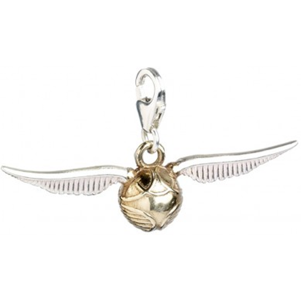 Charm clip sterling silver. Golden snitch on games