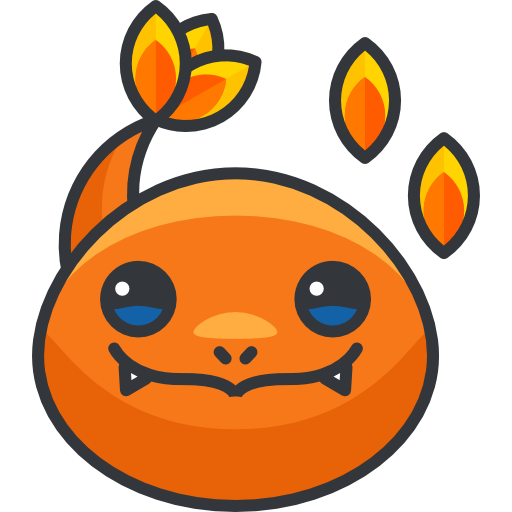 Charmander vector link. Free gaming icons icon