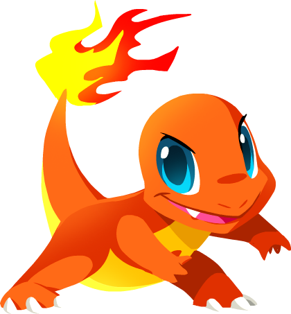 Charizard vector adorable. Charmander by kuitsuku on