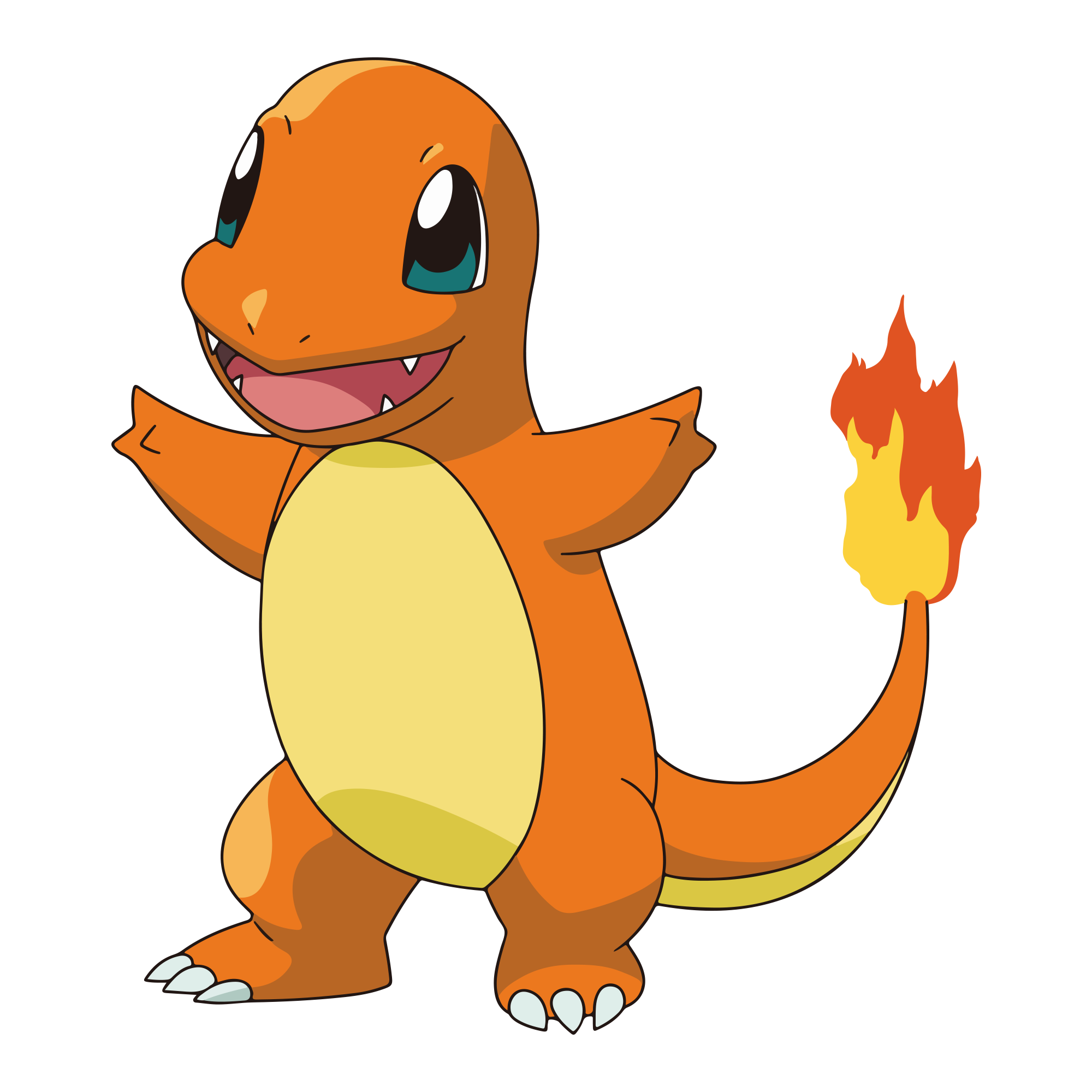 charizard vector charmander