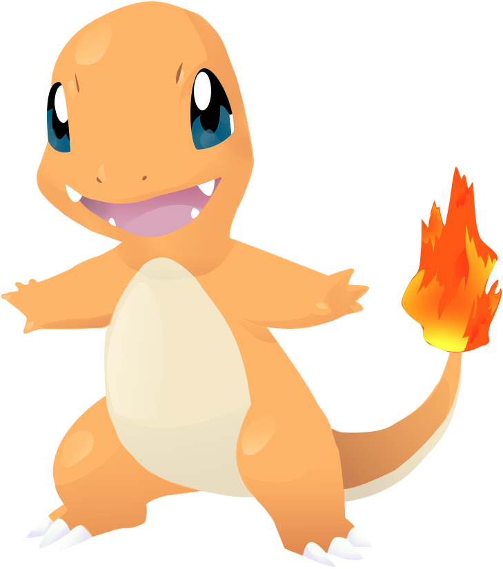 Charmander vector deviantart. Lineless by agentliri on