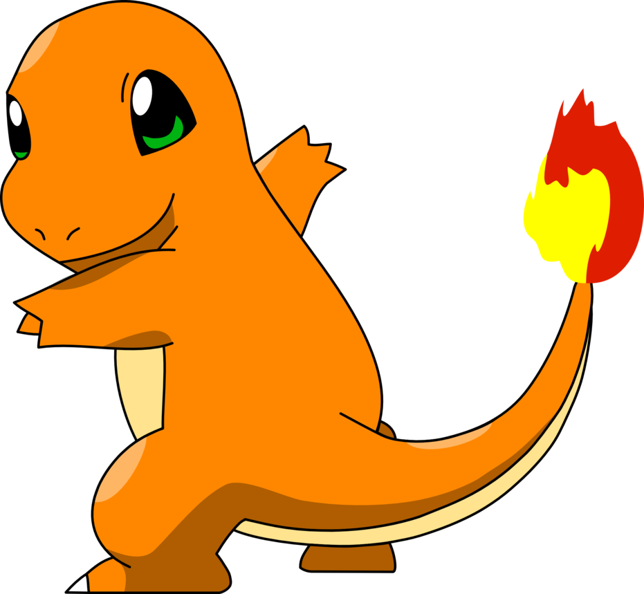 Charmander vector transparent background. By mighty on deviantart