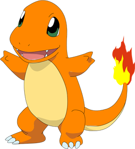 charmander vector transparent