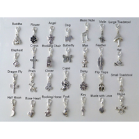 Charms clip. N beads on mix