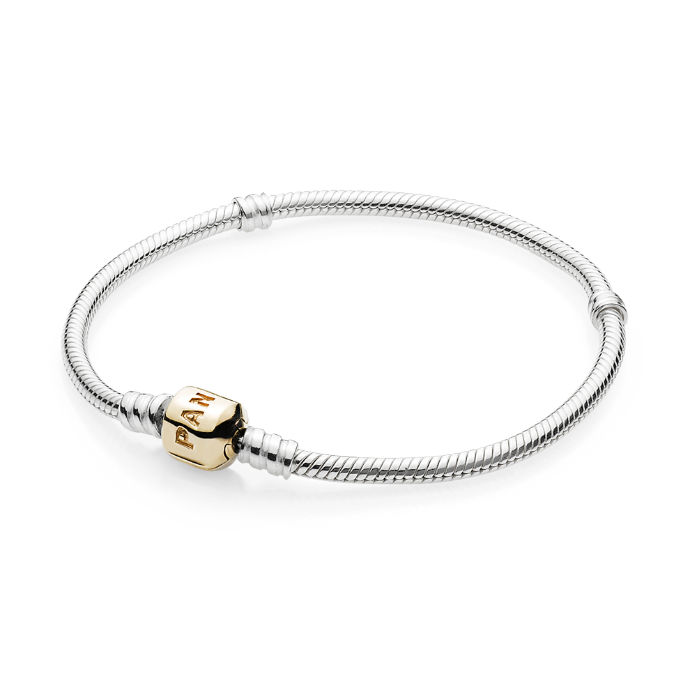 Charms clip clasp. Pandora sterling silver w