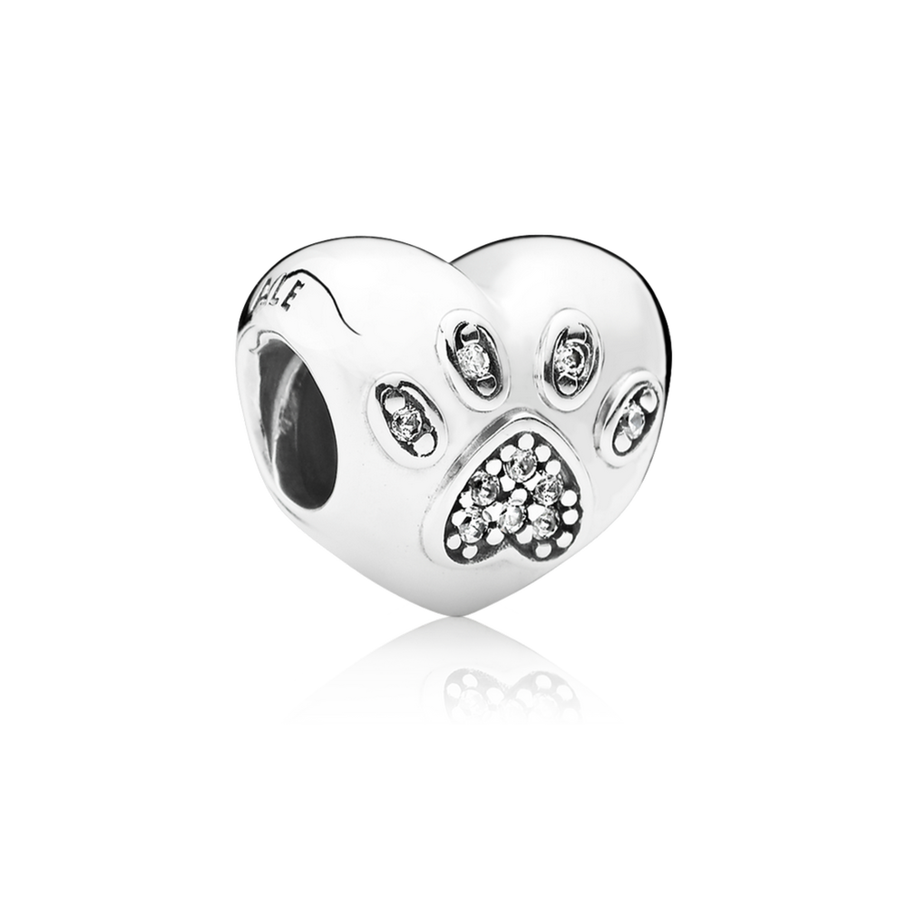 Charms clip heart. I love my pet