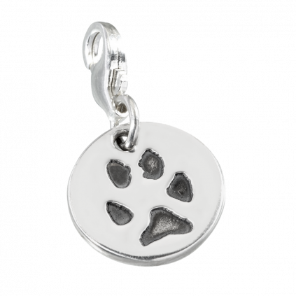 Paw print . Charms clip jewelry vector download