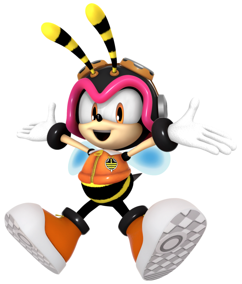 Vector paths bee. Image charmy the png
