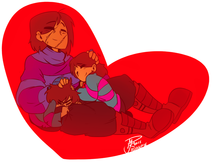 Charra drawing female. Undertale frisk just nappin
