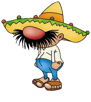 Funny mexican cartoon characters. Stuck clip svg library library